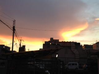 2012年 8月21日 夕焼け