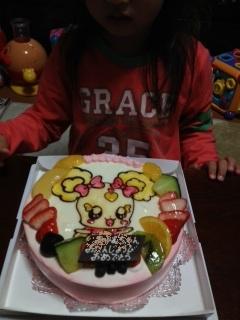 2012年 12月 姪誕生日