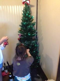 2012年 12月クリスマスツリー1
