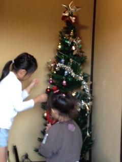 2012年 12月クリスマスツリー2
