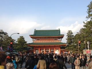 2013年1月 平安神宮