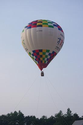 乗った気球7.29