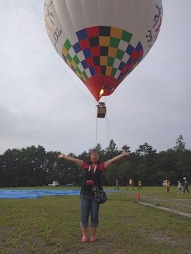 記念撮影気球よ7.29