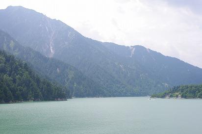 黒部ダム湖7.29