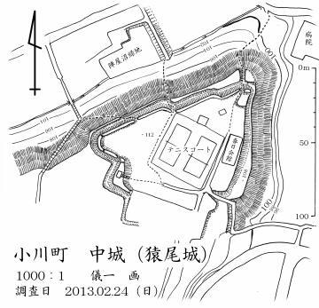 中城図面(儀一謹製)