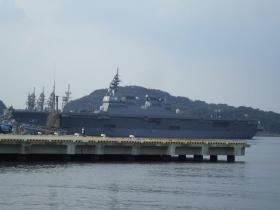 海上自衛隊の護衛艦。ひゅうが型護衛艦の1番艦