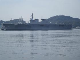 海上自衛隊の護衛艦。ひゅうが型護衛艦の1番艦02