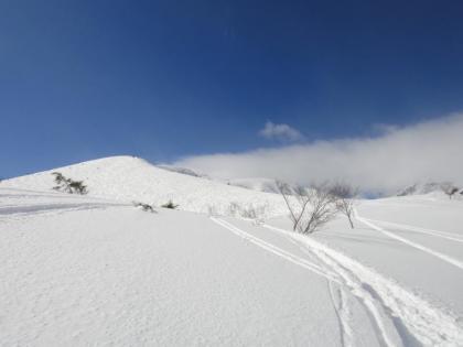 八方尾根山頂(5)