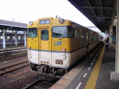 下関行き普通列車