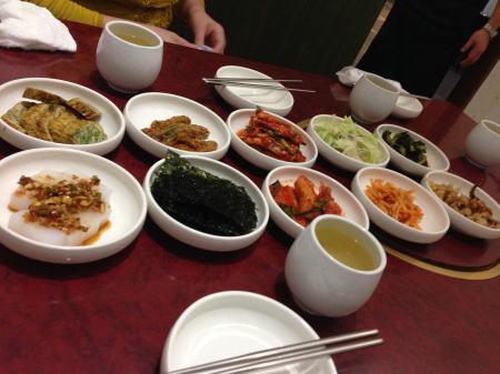 韓国料理屋お通し