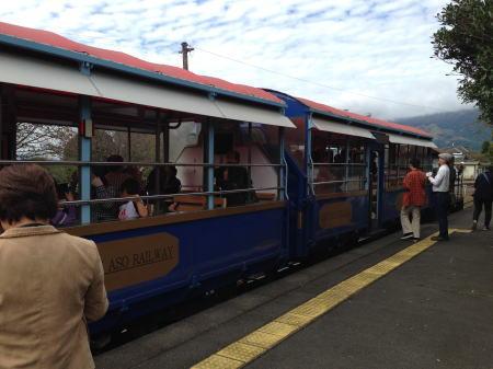 阿蘇トロッコ列車