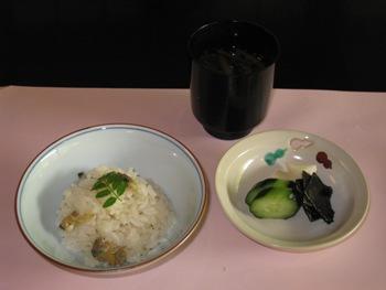 桜鶴苑 湯豆腐御膳6