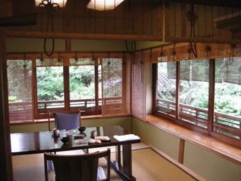 粟田山荘 部屋