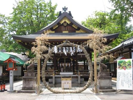 護王神社 夏越祓 茅の輪
