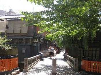 祇園 巽橋 夏