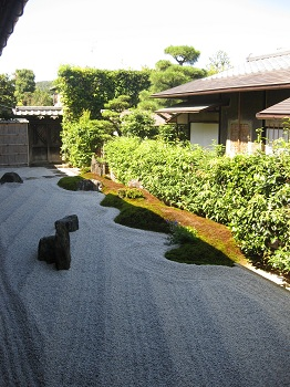 大徳寺 瑞峯院 閑眠庭