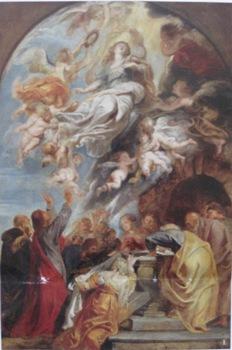 ルーベンス 聖母被昇天 下絵