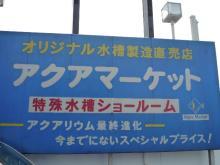 うおっち&ももの海水魚日記-AM看板