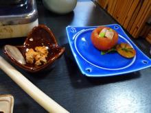 うおっち&ももの海水魚日記-夕食2