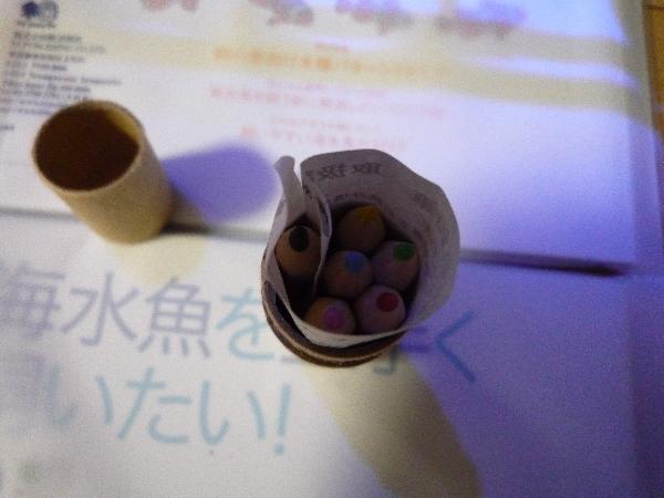 うおっち&ももの海水魚日記-色鉛筆