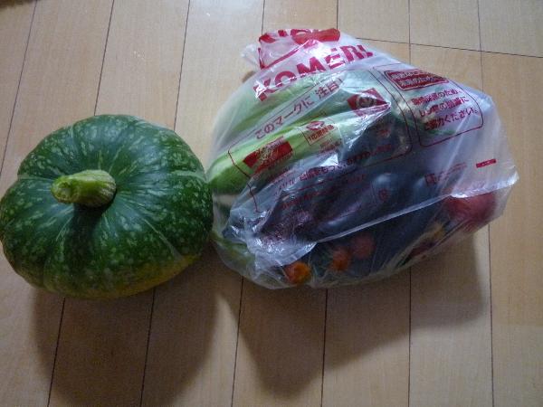 うおっち&ももの海水魚日記-野菜