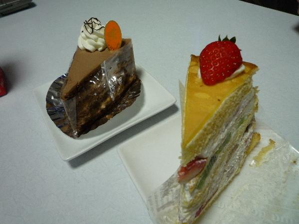 うおっち&ももの海水魚日記-ケーキ