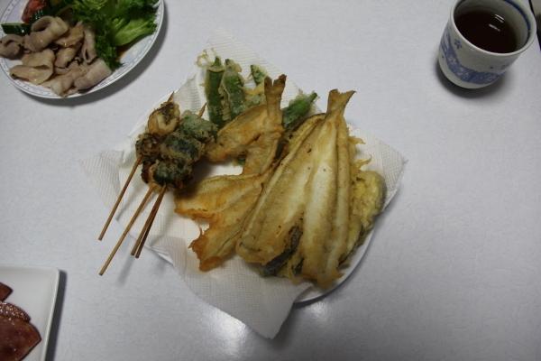 うおっち&ももの海水魚日記-天ぷら