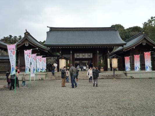 うおっち&ももの海水魚日記-吉野神宮1