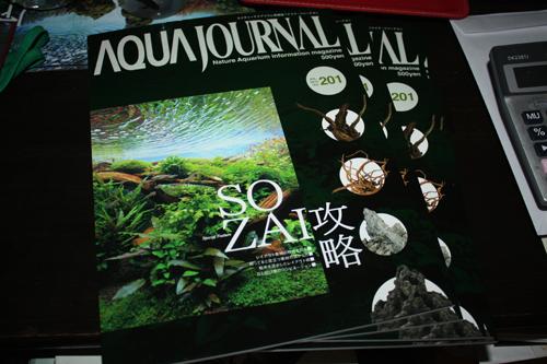 アクアジャーナル最新201号入荷 東海 岐阜 熱帯魚 水草 観葉植物販売 Grow aquarium