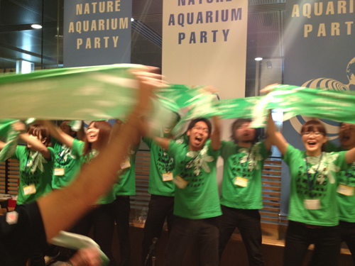 NATURE AQUARIUM PARTY 2012全員で合唱! 東海 岐阜 熱帯魚 水草 観葉植物販売 Grow aquarium
