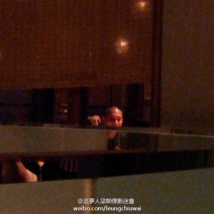 トニーさん@香港のレストラン