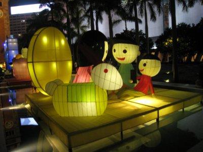 香港のランタン1
