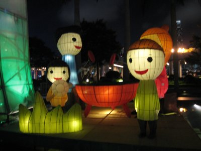 香港のランタン4
