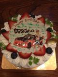 2012 マサ誕生日ケーキ