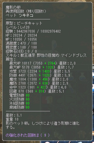 ツキネコ☆3