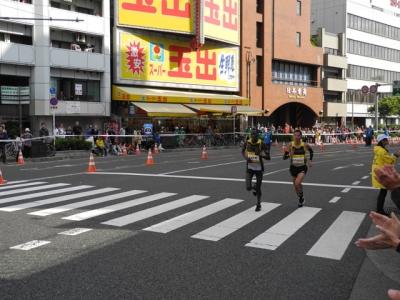 2013大阪マラソン 先頭