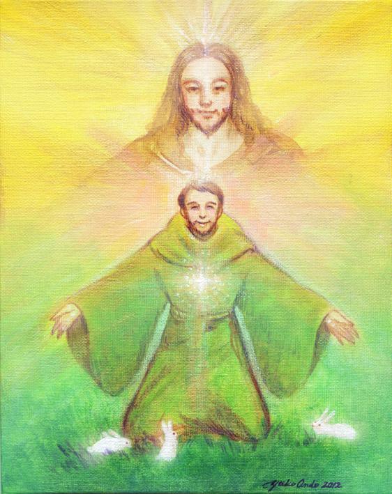 イエスキリスト聖フランチェスコ