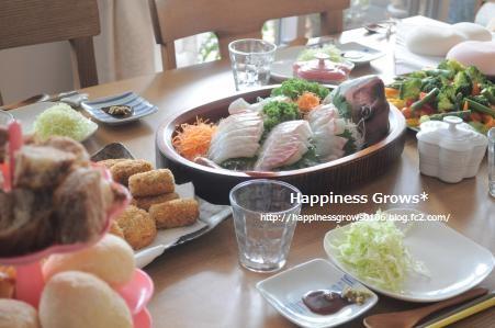 1歳の誕生日会♪(当日・料理編)