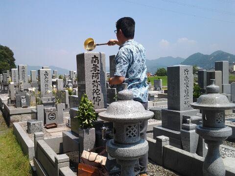 平成25年8月14日墓参り