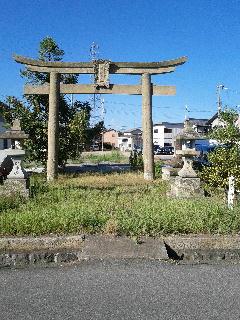 11.生石神社一の鳥居