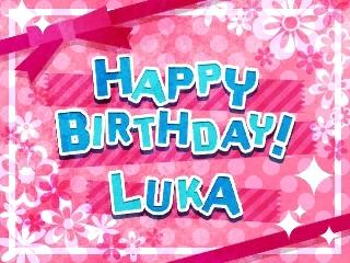 ルカ誕生日!