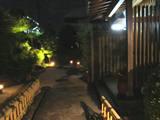 中華料理のお店-お庭