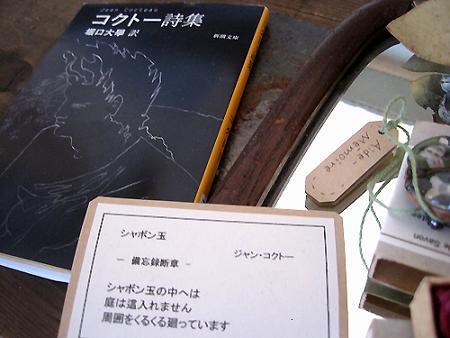 コクトー詩集 シャボン玉