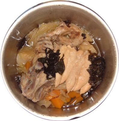 鶏がらご飯2