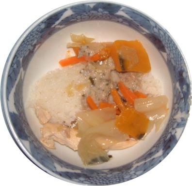 鶏がらご飯1