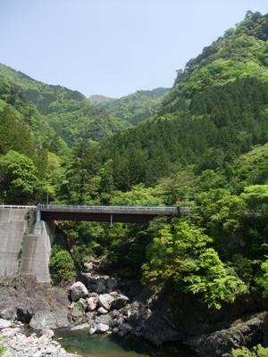 四季美谷温泉の周りの風景