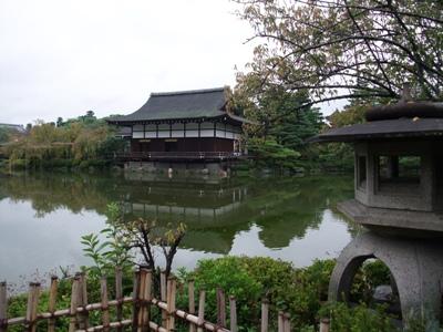 平安神宮のお庭1