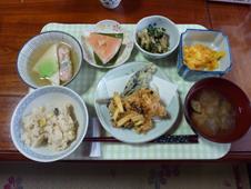 10月1日昼食