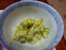 白菜の和風サラダ