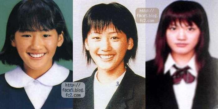 中学、高校時代の綾瀬はるかの顔